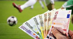 billets euros ballon football